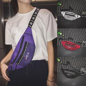 Waist Bag Female Belt New Brand Fashion Chest Handbag Unisex Fanny Pack Ladies Waist Pack Belly Bags Purse Girls Shoulder