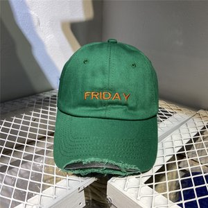 Embroidery Baseball Cap Women Men Best Quality Monday Tuesday Wednesday Thursday Friday Hat