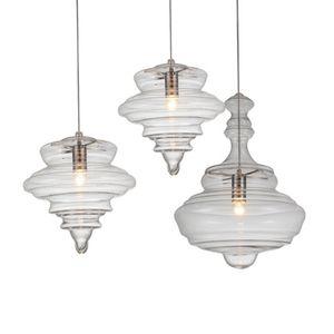 Restaurant Chandelier Light Bar Cafe Creative Personality Nordic American Loft Industrial Glass Hanging Lights