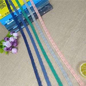 S1166 flower design color 1.3cm elastic soft mesh eye spandex Chantilly decorative floral clothing fabric sock baby dress