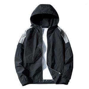 KANCOOLD 2019 Male Autumn Windbreaker Men's Sun protection Clothing Coats Jackets Men Hooded Thin Patchwork Waterproof Outwear1