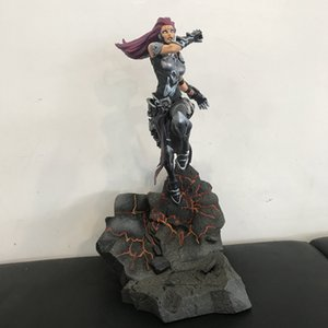 Original DST Figurine Secondhand 21cm Games Darksiders Moment Scene Action Figure with Base Collectible Model Toy