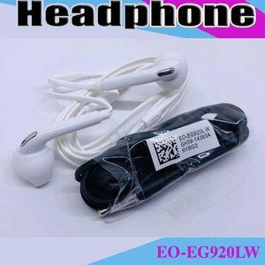 Premium Stereo Quality Factory Promotion For Samsung S7 S6 S6 Edge Earphone Earbud Headset Headphones 3 .5mm Non Packaging Eo -Eg920lw Mq100