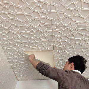 Mulit style 3D Wall Stickers Imitation Brick Bedroom Decor Waterproof Self-adhesive Wallpaper For Living Room Kitchen TV Backdrop Decoration