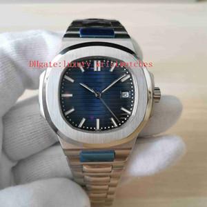 Moda in orologio da polso di alta qualità classico 40mm 5711 5711 / 1A 010 Acciaio inossidabile 2813 Movimento Trasparente Meccanico Automatico Automatico orologi da uomo