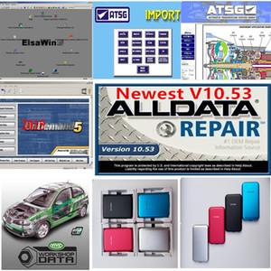 2020 Горячие Alldata Soft-Ware диагностики мягкого изделия ми ... флигель od5 Vivid Workshop авто-данные 1TB HDD автомобильный ремонт мягкой посуды