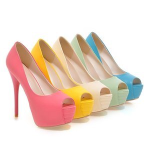 Super high heel female fish mouth sandals wholesale waterproof platform stiletto sandals foreign trade size