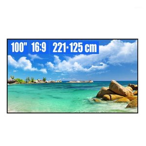100 inch 16:9 White Soft Ultra-Narrow Fixed Frame Projection Screen 4K 8K HD 3D Movie Projector Screen for Home Theater1