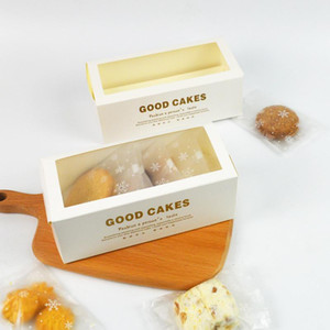 Lbsisi Life 10pcs Sweet Time Drawer Stlye Paper Box Handmade Cookies Baking Pack Baby Shower Child Favor Gift Cake Decoration jllnru