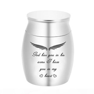 142 x 98 mm Cremation Urns Ashes Holder Keepsake Aluminum alloy Memorial Urn Funeral for Ash