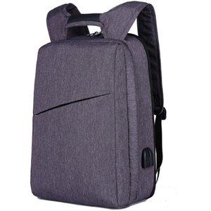 XQXA bir sırt çantası iki stilleri erkek rahat iş laptop sırt çantası 15.6 17 inç kadınlar sırt çantası genç okul çantası