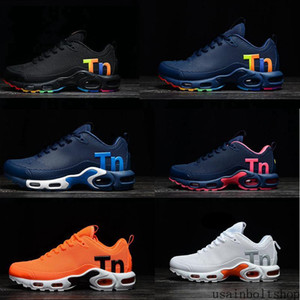 2019 Cheap TN plus SE running shoes for Mens Habanero Red Total triple black men sports sneaker trainers 7-11 usain