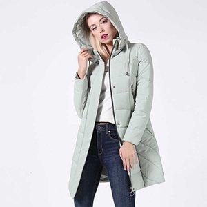Ceprask 2020 высокое качество Женщины плюс размер длинные модные женские зимние пальто с капюшоном с капюшоном