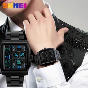 Наручные часы Skmei мужские спортивные часы обратный отсчет хронографа будильник часы водонепроницаемого цифрового Relogio Masculino Erkek Kol Saati