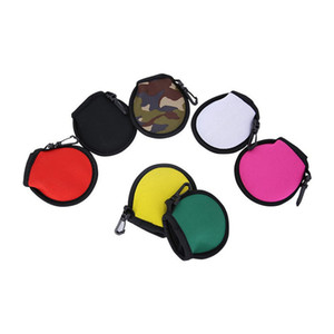Waterproof Neoprene Golf Ball Holder Golf Tees Pouch Portable Golf Balls Carry Case Pocket with Waist Clip Bag Pendants Training Gift H12206