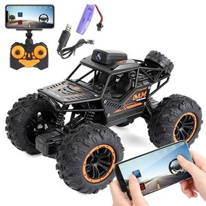 2. Controller APP Remote Control WiFi Camera High-speed Drift Off-road Car Four-wheel Drive Double Steering Buggy RC Rock LJ201209