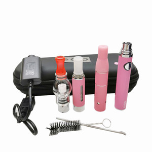 3in1 vaporizzatore sigaretta Starter Kit evod batteria MT3 eLiquid cera globo di vetro fa atomizzatori erbe secche 3 in 1 Vape penne DHL