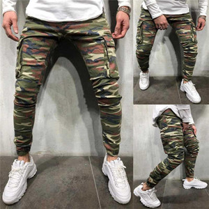 New Men Cargo Pants Trousers Camouflage Casual Pants Hip Hop Mens Joggers Trousers Male S-3XL1