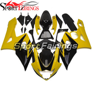 Sportbike Fallings لسوزوكي GSXR1000 K5 05 06 GSX-R1000 2005 2006 Comlete Fallings Injection البلاستيك Banelels أصفر أسود