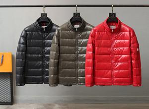 Designer Top Versão de alta qualidade dos homens de inverno para baixo parka casaco para os homens moda casaco com capuz Luxo manter pato quente para baixo Jackets casaco