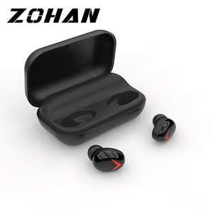 TWS A8 Bluetooth Earphone Sport Charging Box In Ear Noise Reduction Headsets Surround Sound Waterproof Mini Earbuds For Huawei