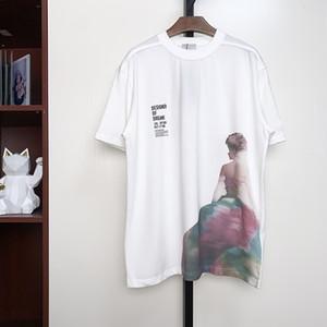 Mans Designer Frühling Sommer Rock Brief T Shirt Mode Hoodies Männer Frauen Casual Cotton T Shirts Schwarz