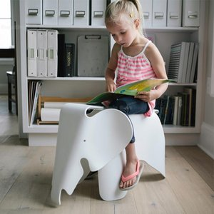 The Children Animal Kids Chair Elephant Shape Children Chair In Room Welcomed By The Waterproof PP Plastic Chairs Bearing