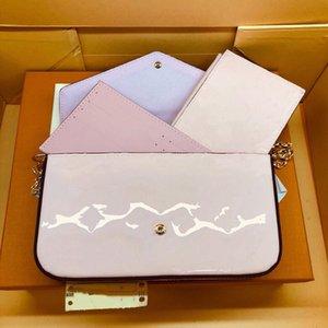 Bolso Felice Handbag Billet Handbag Designer Designer Diseñador Brillo Zipper Cremallera Messenger Lady Bag Bag Luxury NRSOQ