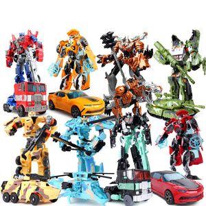 см Дети раннего обучения игрушка Transformation Робот автомобиль игрушка Действие фигура Модель Дети подарки