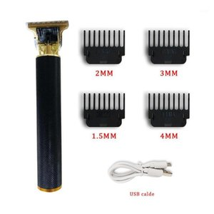 Professional Hair Clippers Men T-Blade Beard Trimmer Barber Grooming Kit Rechargeable Cordless Haircut Machine1
