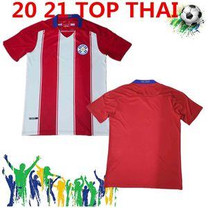 Livraison Gratuite 2020 Paraguay Soccer Jerseys 20 21 Équipe nationale Accueil Camiseta de Fútbol APF Hommes Football Shirt