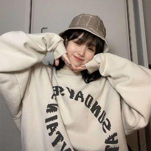 2021 Kanyemeichao maglione girocollo sciolto uomo e donna autunno autunno pullover