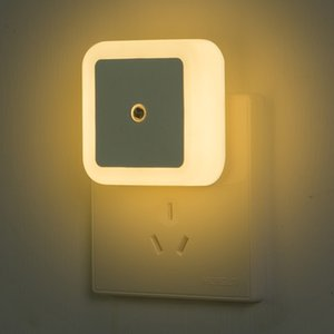 LED-Nachtlicht Mini-Licht-Sensor-Steuerung 110V 220V EU US-Stecker Nachtlicht Lampe für Kinder Kinder Wohnzimmer Schlafzimmer Beleuchtung