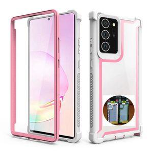 Para LG Stylo 6 5 4 K51 G8 Thinq Aristo 3 K8 Samsung A11 A21 A01 de EE.UU. a prueba de polvo protector completo Defensor Acrílico caja de la caja de embalaje de plástico