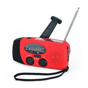 DOCOOLER Solaire Solar Powered Radio radio Radio portable avec lampe de lecture AM / FM Lampe d'urgence pour l'extérieur