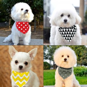40pcs Dog Bandana Collars Dogs Pets Accessories Grooming Pet Puppy Scarf Cotton Bandanas For Small Medium Large Dogs C wmtZEc