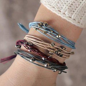 Bluestar Vsco Menina moda corda pulseira fadilike estilo retro estilo clássico jóias feminina diariamente acessório vestido