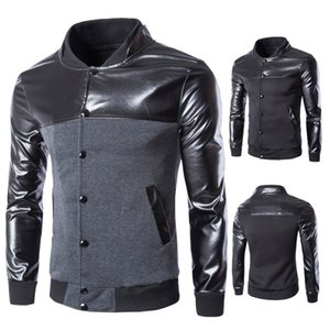 2021 Spring New Casual Single Breasted Parquet Fashion Jacket Men's Sweater