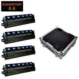 Dj Disco Light 120W Stage Light Dj RGBWAP 6in1 Led For Party Bar Lamp Laser Stage Wall Washer Spot Light Backlight