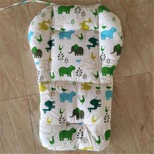 Newborn Baby Stroller Seat Cushion Pram Pushchair Liner Padding Mat Car Chair Seat Print Soft Cushion Cotton Blend Accessories