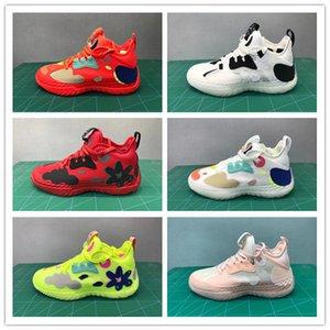 2021 новый запуск Harden VOL 5 баскетбольные туфли PK кроссовки мужчин укреплены 5 баскетбольные ботинки нейлоновые черные зеленые синие красные белые кроссовки размером 40-46