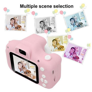 Cartoon Style Exquisite Mini Children Camera Small SLR High Definition Digital Camera With 8G Memory Card