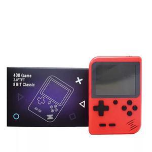 휴대용 핸드 헬드 비디오 게임 콘솔 복고풍 8 비트 미니 게임 플레이어 1 AV 게임 포켓 게임 보이 컬러 LC에서 400 개 게임 3