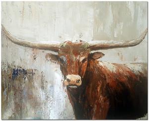 Bestiame impressionisti Home Decor dipinto a mano olio HD Stampa pittura su tela di canapa di arte della parete della tela di canapa Immagini 201015