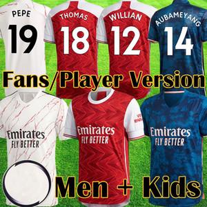 camiseta Arsenal PEPE D CEBALLOS soccer jersey football shirt camiseta de fútbol 19 20 AUBAMEYANG LACAZETTE 2019 2020 Camiseta Xhaka Özil kit chandal de fútbol uniformes tercera