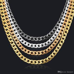 CUBAN LINK Collier Chaîne Collier Chaîne pour hommes Bijoux Corrente de Prata Masculinina Grossiste Collier Mens de Miami