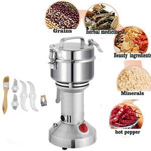Grinder elettrico a grano elettrico 350g Pulverizer Relecing Machine 2000W Mill Grinder Machine Powder 50-300 Mill Grinder Mill T200227