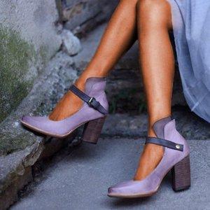 Vintage Olgun Kadınlar Klasik Patent Deri Yüksek Topuklu Ayakkabı Gelinlik Ayakkabı T200525