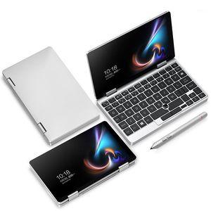 "Orijinal 7 ""Bir Mix1s Tablet PC Mini Dizüstü Intel Celeron 3965Y 8GB / 256 GB Gümüş Lisansı Windows 10 Dokunmatik Ekran Bluetooth 1.5GHZ1"