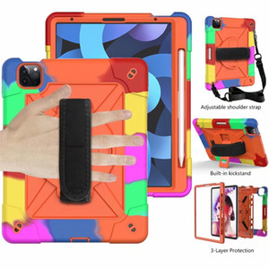 for ipad air 4 10.9 air4 ipad8 ipad 8 Defender shockproof Robot Case military Extreme Heavy Duty silicone cover